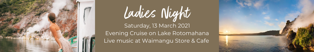 Ladies Night at Waimangu Volcanic Valley